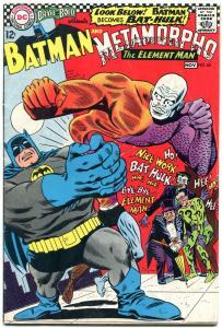 Brave And The Bold  #68 1966-Batman- Metamorpho- Joker- Penguin FN-
