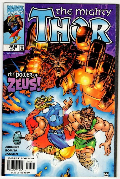 THOR #7 (NM) 1¢ Auction! Hercules App! No Resv! See More!!!