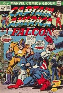 Captain America #170 (ungraded) stock photo / SCM