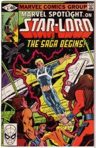 Marvel Spotlight (vol. 2, 1979) # 6 FN Star-Lord, Moench/Sutton