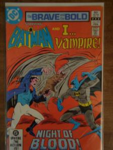 DC Comics The Brave and the Bold #195 Batman and I...Vampire NM
