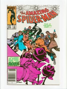 Amazing Spider-Man #253 Canadian Price Variant Newsstand Marvel Comic 1984 VF/NM