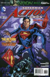 Action Comics (2nd Series) #13 VF/NM; DC | save on shipping - details inside