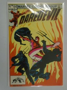 Daredevil #194 Direct edition 8.0 VF (1983 1st Series)