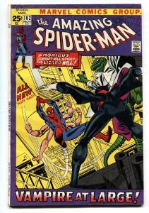AMAZING SPIDER-MAN #102 comic book 1971 MORBIUS ORIGIN VAMPIRE vf-