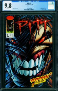 Pitt #1 CGC 9.8 White Pages- 1993-1st app 2001509018