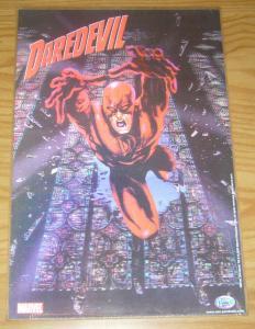 Daredevil motion poster - 18 x 12 - lenticular - marvel comics 2003 neo