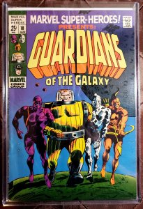 MARVEL SUPER-HEROES 18 - FIRST GUARDIANS OF THE GALAXY