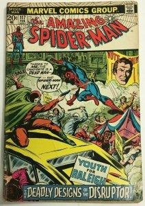 AMAZING SPIDER-MAN#117 VG 1973 MARVEL BRONZE AGE COMICS