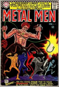 METAL MEN 19 GD+  May 1966