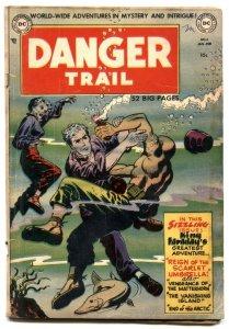 Danger Trail #4 1951- Last King Faraday- Rare DC Comic VG+