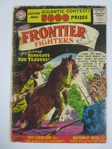 FRONTIER FIGHTERS #6 (DC,7/1956) GOOD (G) Buffalo Bill by Joe Kubert!