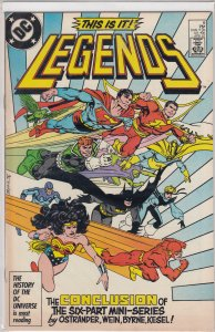 Legends #6 (1987)