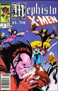 Marvel MEPHISTO VS. THE X-MEN #3 VF/NM
