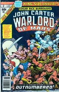 John Carter Warlord of Mars(Marvel)  Annual # 2