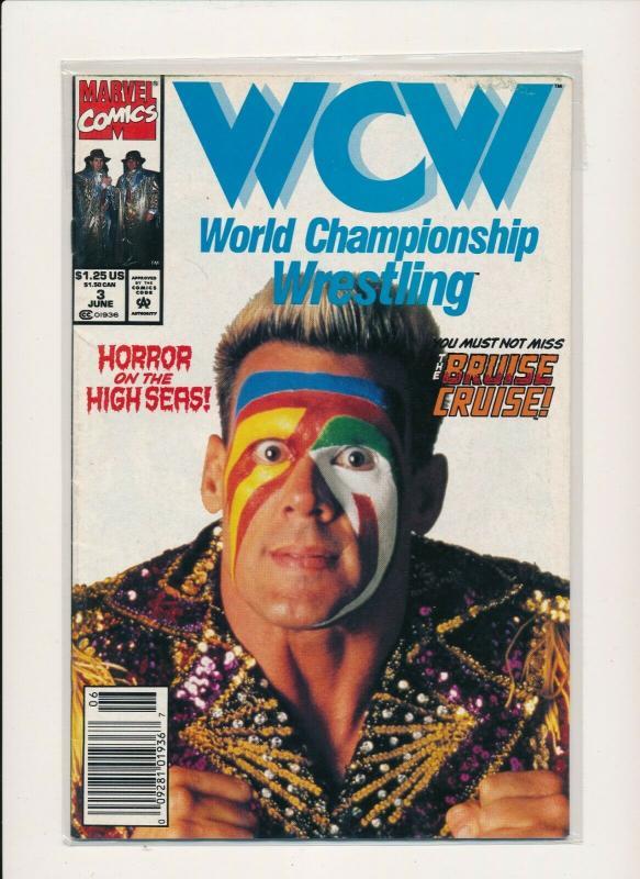 Marvel WCW World Championship Wrestling #3 Comic FINE  (PF856)