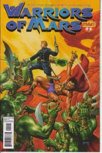 Warriors of Mars #2A VF/NM; Dynamite | save on shipping - details inside