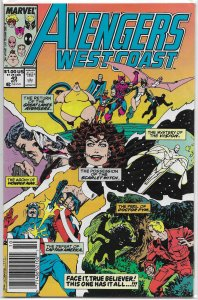 Avengers West Coast   # 49 FN Byrne, Scarlet Witch, Great Lakes Avengers