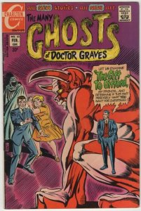 Many Ghosts of Dr. Graves #30 (1972) MC#6