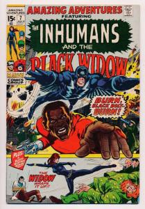 Amazing Adventures the INHUMANS & the Black Widow #7 ~ Marvel  ~ VG/FN (HX341)