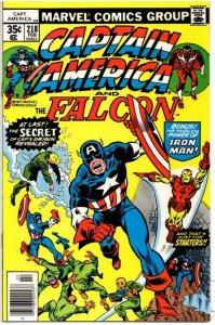CAPTAIN AMERICA #218, VF/NM, Iron Man 1968 1977, more CA in store