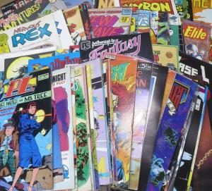 1980S-1990S INDIE COMIC survey WYSIWYG- 300 PLUS BOOKS Comic history long box