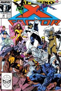 X-Factor (1986 series) #39, VF+ (Stock photo)