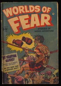 Worlds of Fear #8 GD+ 2.5