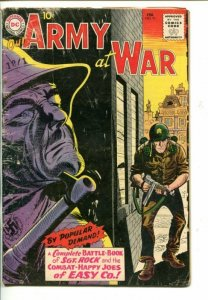 OUR ARMY AT WAR #91-1960 ALL SGT ROCK ISSUE-JOE KUBERT-good/vg