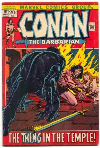 CONAN THE BARBARIAN #18 1972-NATIONAL DIAMOND SALES VARIANT-MARVEL