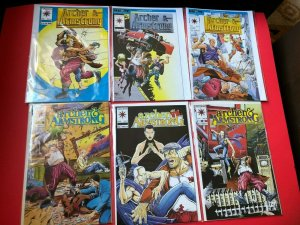ARCHER & ARMSTRONG LOT OF 6 #'S 0,1,2,7,9,10. VALIANT /  NM CONDITION