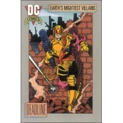 1991 DC Cosmic Cards - DEADLINE #90