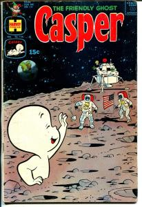 Casper The Friendly Ghost #138-moon landing-American Flag-rare issue-VG+
