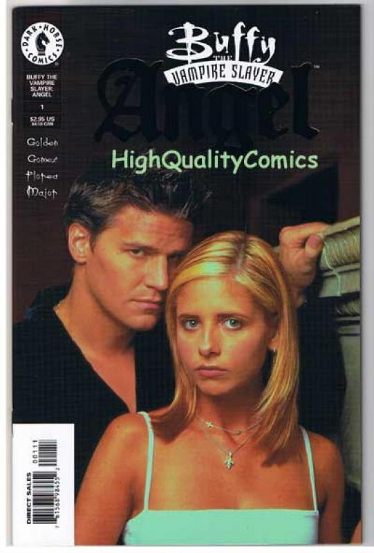 BUFFY the VAMPIRE SLAYER  ANGEL #1, Gold, NM, Joss Whedon,1999, more in store