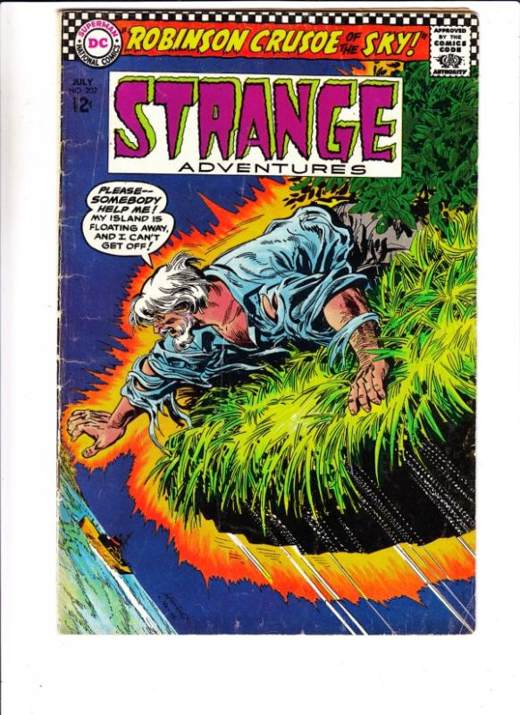 Strange Adventures #202 (Jul-67) VG Affordable-Grade