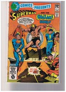 DC Comics Presents # 34 Fine  6.0