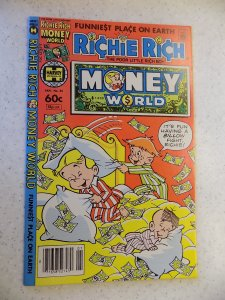 RICHIE RICH MONEY WORLD # 55 HARVEY CARTOON ADVENTURE FUNNY