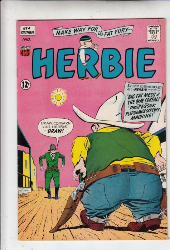 Herbie #4 (Sep-64) VF/NM High-Grade Herbie Popnecker
