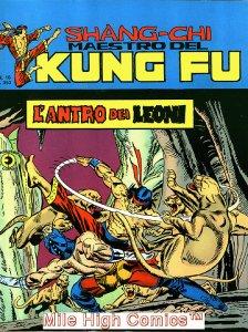 SHANG-CHI MAESTRO DEL KUNG FU MAGAZINE ITALIAN (1975 Series) #16 Near Mint