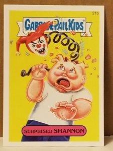 2015 Garbage Pail Kids  #21b Surprised Shannon