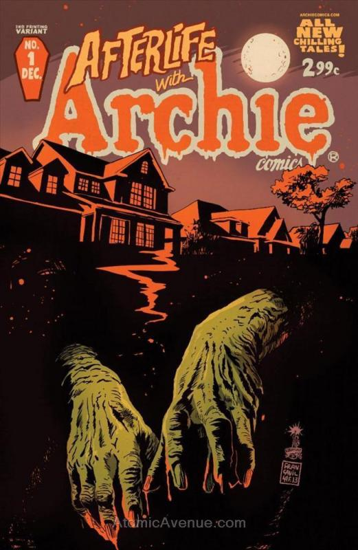 Afterlife With Archie #1 (2nd) VF/NM; Archie | save on shipping - details inside