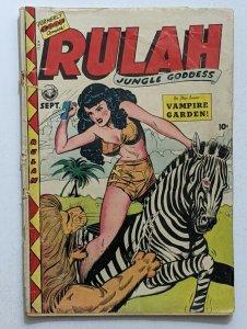 Rulah Jungle Godess #18 (Sept 1948, Fox) Good 2.0 Jack Kamen cover