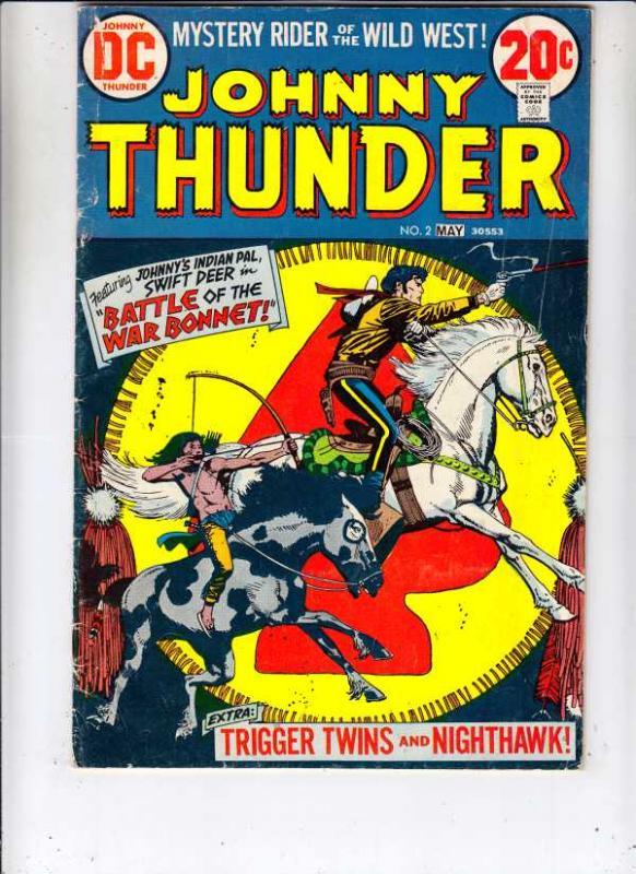 Johnny Thunder #2 (May-73) FN- Mid-Grade Johnny Thunder