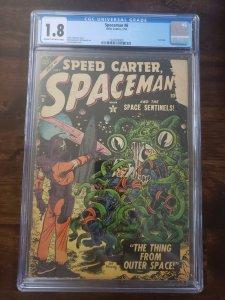Spaceman 6 CGC 1.8 Last Issue