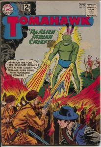 Tomahawk #79 1962-DC-Alien horror cover rocket ship panel-rare-VG-