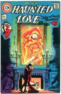 HAUNTED LOVE #5, VF/NM, Steve Ditko, Gothic Horror, 1973, more Charlton in store