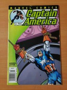 Captain America #43 (510) ~ NEAR MINT NM ~ 2001 Marvel Comics