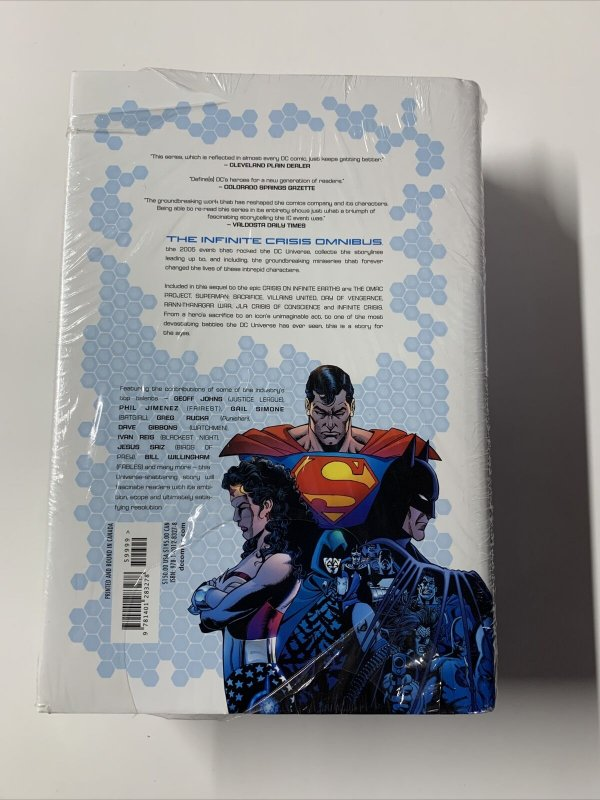 Infinite Crisis Omnibus Mint Sealed 1st First Edition Printing Dc Hc Tpb