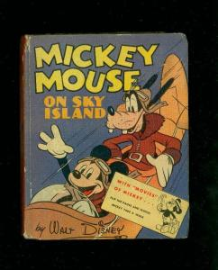 MICKEY MOUSE #1417-SKY ISLAND-BIG LITTLE BOOK-1941-FLIP FN-