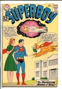 SUPERBOY #101-1962-DC-KRYPTOL-vg